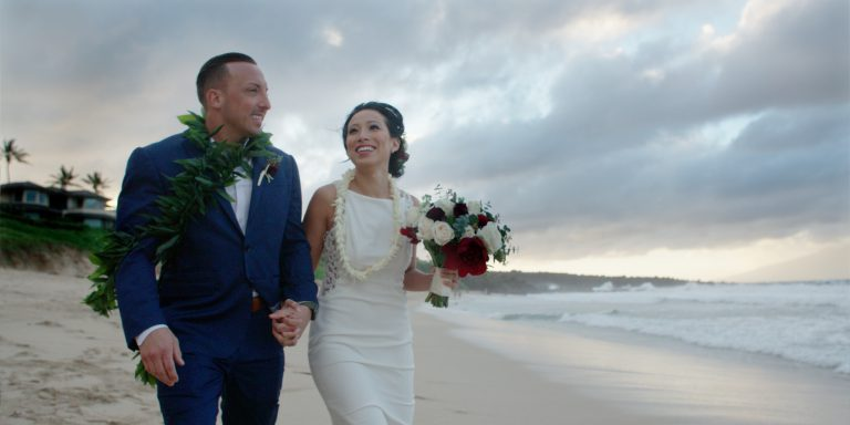 Ashlee & Brad's Maui Beach Elopement